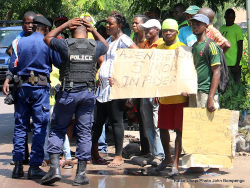 A Goma, une marche de la Lucha dispersée, des activistes interpellés