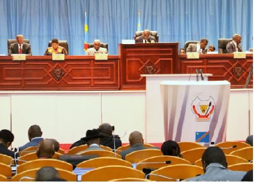 RDC : le règlement d'ordre intérieur de l'Assemblée nationale déclaré conforme à la constitution