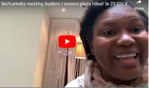Bxl/Lamuka meeting leaders / crowne plaza hôtel/ le 23.03/ dernier jour