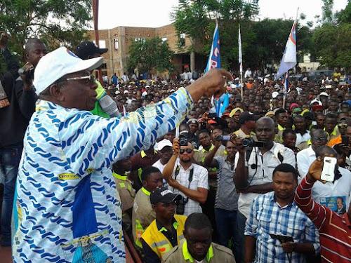 Lubumbashi : protocole de paix entre la jeunesse de l'UDPS et celle de l'UNAFEC
