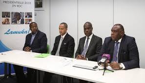 Bruxelles,les leaders de Lamuka reaffirment leur unite.