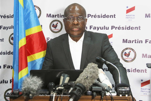 RDC : Martin Fayulu demande à Félix Tshisekedi de démissionner.