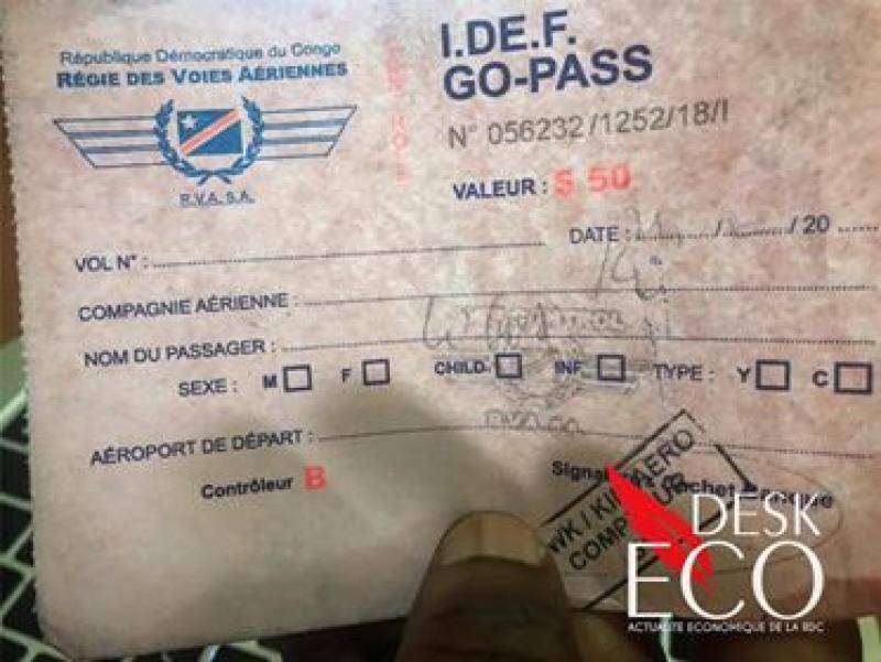 RDC : Le député Lubaya appelle à la suppression du Go Pass.