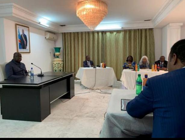 Félix Tshisekedi aux opérateurs économiques : « J'espère créer quelques milliardaires congolais à la fin de mon mandat »