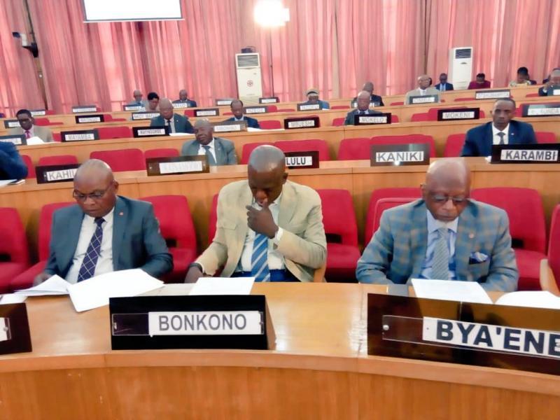 RDC : Les mandats des 100 sénateurs validés.