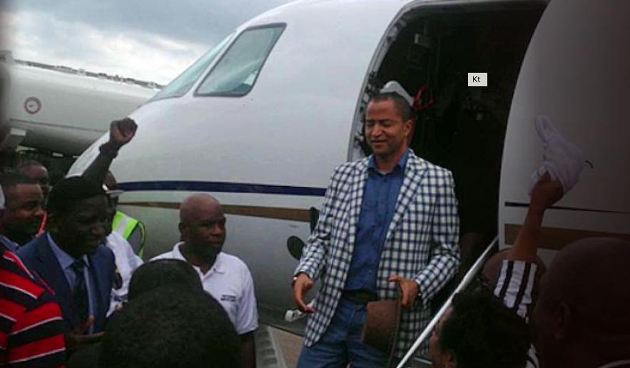 RDC : Moise Katumbi est arrivé à Lubumbashi