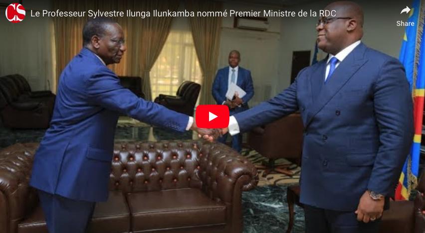 Le Professeur Sylvestre Ilunga Ilunkamba nommé Premier Ministre de la RDC.