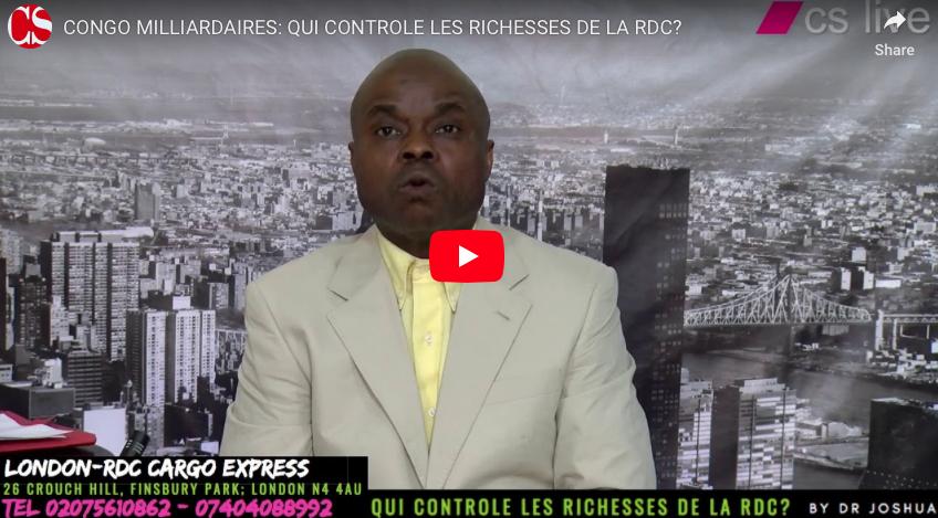 CONGO MILLIARDAIRES: QUI CONTROLE LES RICHESSES DE LA RDC?