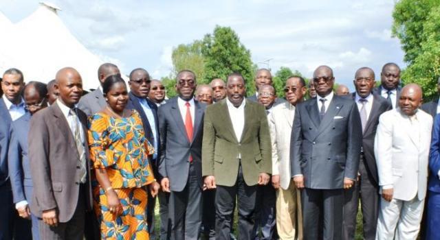 RDC : Joseph Kabila s'apprête à recevoir les sénateurs FCC à Kingakati.