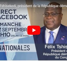 Félix Tshisekedi, président de la République démocratique du Congo – Internationales – TV5MONDE.