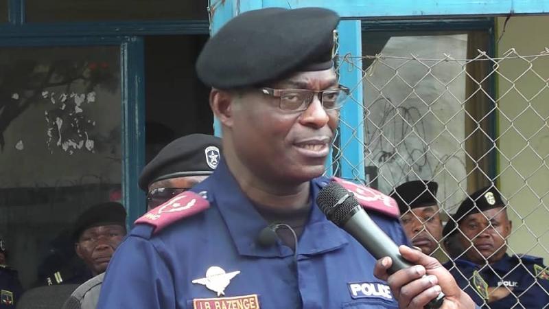 """RDC : Au Sud – Kivu, le nouveau chef de la police appelle ses hommes à """"éviter des morts"""" lors des opérations."""