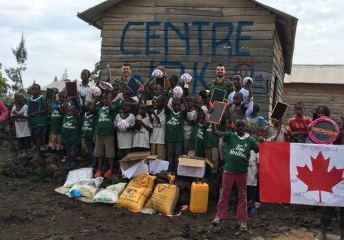 Butembo : la MONUSCO assiste des enfants orphelins de guerre et d'Ebola.