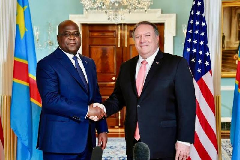 RDC-USA: Tshisekedi échangera avec Pompeo ce mardi .