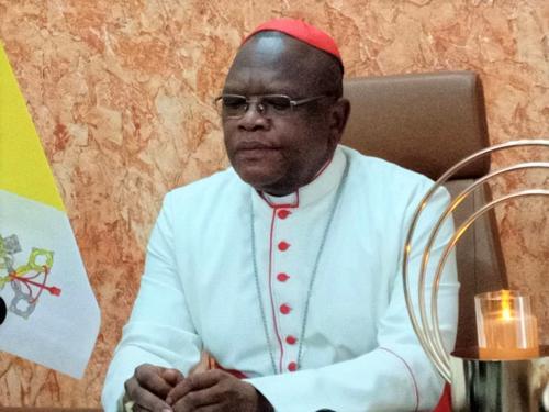 RDC : le Cardinal Ambongo a « l'impression que le pouvoir tâtonne dans la gestion » du Coronavirus.