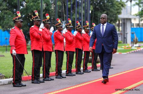 RDC : Félix Tshisekedi nomme de nouveaux commandants de la Garde républicaine.