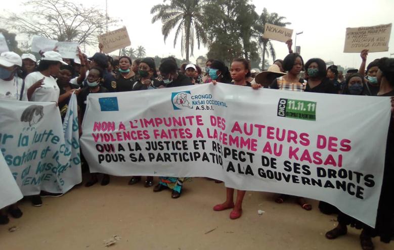 Kasaï Central : Une structure dénonce la suspension de plusieurs femmes des postes de prise de décision en l'espace de 4 mois.