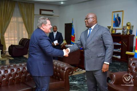 M. Hammer annonce le retour de la RDC dans l'AGOA .