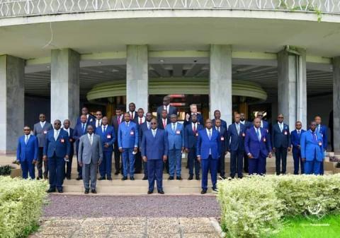 RDC-Conférence des gouverneurs : Tshisekedi insiste que la nouvelle gouvernance devrait tenir compte du contexte de l'Union sacrée.