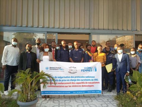 """Kinshasa : L'ONG """"Agir Ensemble"""" sensibilise sur les techniques de référencement des survivantes des Violences Basées sur le Genre"""