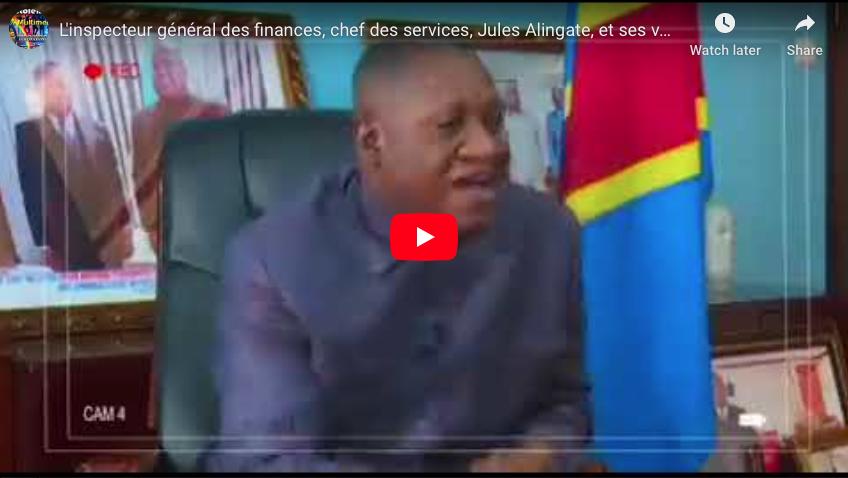 L'inspecteur général des finances, chef des services, Jules Alingate, et ses vérités.