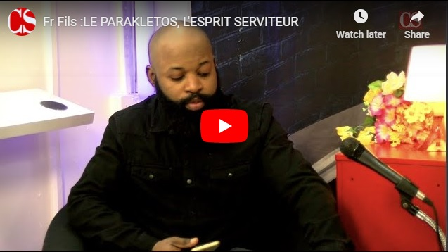 Fr Fils :LE PARAKLETOS, L'ESPRIT SERVITEUR .