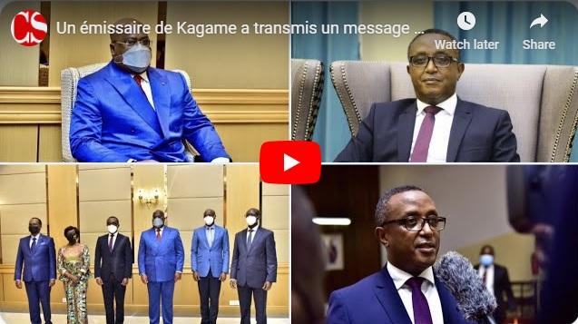 Un émissaire de Kagame a transmis un message spécial à Félix Tshisekedi + Kabund s'oppose à Bemba.