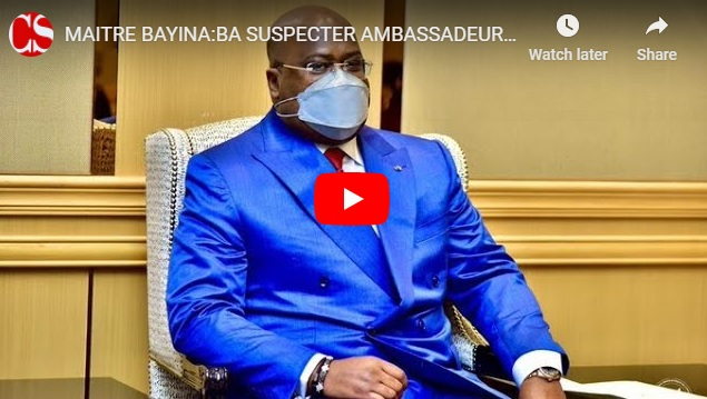MAITRE BAYINA:BA SUSPECTER AMBASSADEUR RWANDAIS NA PRESIDENCE AZO TCHA POISON.