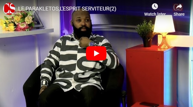 LE PARAKLETOS,L'ESPRIT SERVITEUR(2).