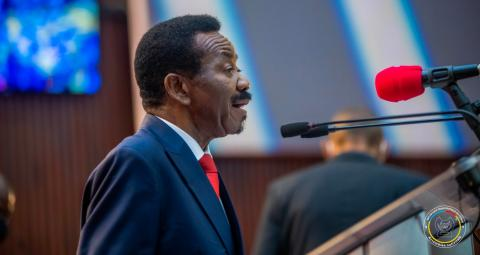 """Mboso N'kodia : """"La session de mars sera déterminante pour notre pays. Nous aurons le devoir d'investir le gouvernement de l'Union sacrée""""."""