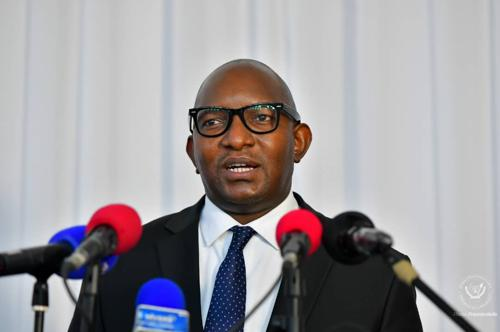 Patrick Muyaya : « La nomination de Sama Lukonde montre la volonté du chef de l'Etat de renouveler la classe politique ».