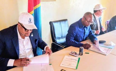 Lomami : Le gouvernement provincial signe un contrat d'1 milliard $ avec une firme chinoise pour la construction des infrastructures de base.