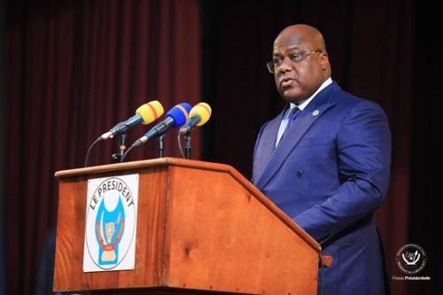 Félix Tshisekedi lance les activités culturelles liées à sa mandature à l'Union africaine.