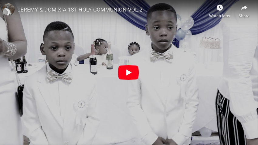 EREMY & DOMIXIA 1ST HOLY COMMUNION VOL.2