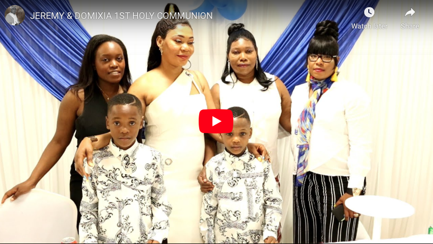 JEREMY & DOMIXIA 1ST HOLY COMMUNION VOL1