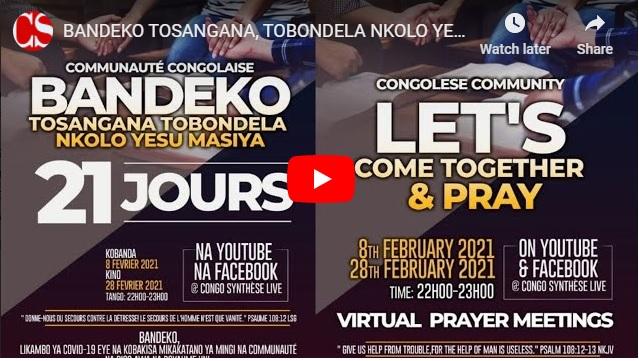 BANDEKO TOSANGANA, TOBONDELA NKOLO YESU MASIYA, Po na Communauté Congolaise na Grande Bretagne (UK).