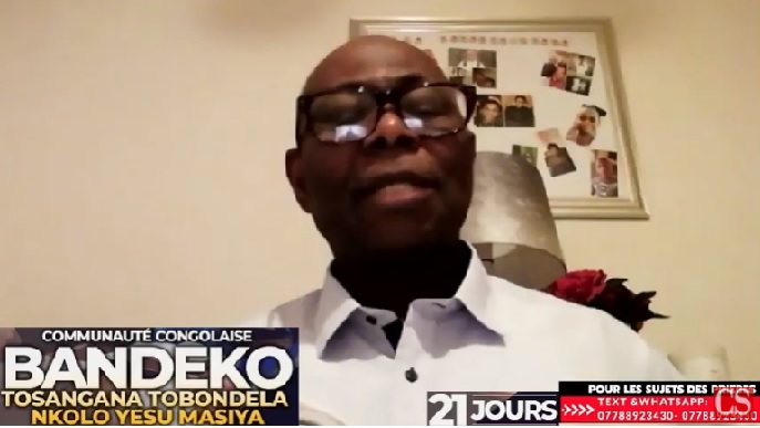 BANDEKO TOSANGANA, TOBONDELA NKOLO YESU MASIYA, Po na Communauté Congolaise na Grande Bretagne (UK) .