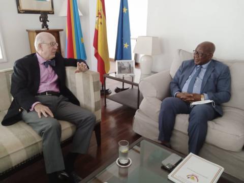 RDC : La Maison civile du chef de l'État et l'ambassade d'Espagne envisagent un partenariat pour l'encadrement de la jeunesse.