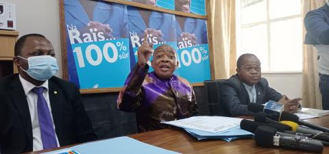 """Kokonyangi : """"Nous allons faire une opposition républicaine""""."""