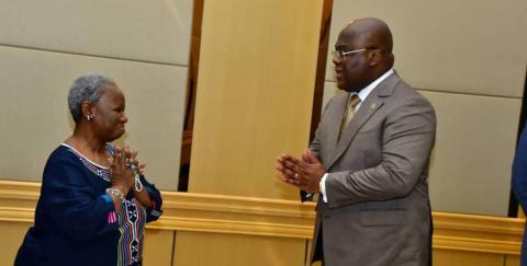 RDC : La promotion et la défense des femmes et filles seront au cœur de l'action de toute la famille des Nations-Unies (Bintou Keita)