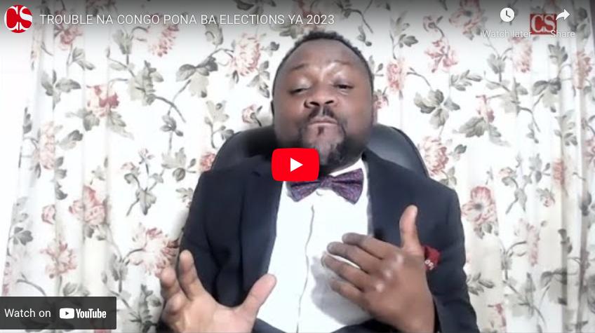 TROUBLE NA CONGO PONA BA ELECTIONS YA 2023.