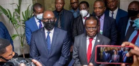 """RDC : Bahati rappelle au 1er ministre Sama l'urgence de constituer son gouvernement pour se mettre """"rapidement"""" au travail."""