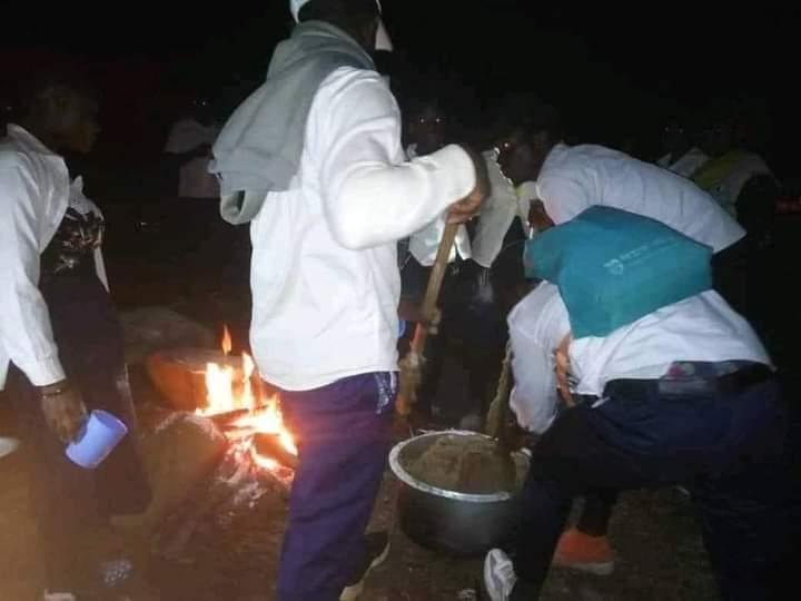 Insécurité dans l'Est : A Beni,des élèves qui exigent l'arrivée du chef de l'État ont passé la première nuit à la mairie.