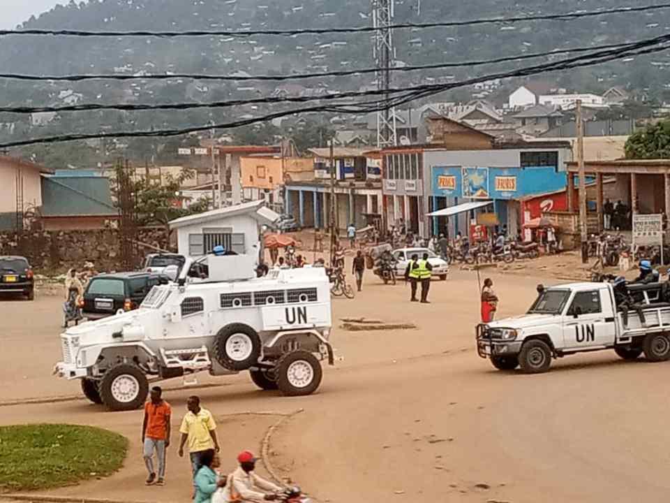 L'arrivée des nouveaux véhicules de la Monusco en provenance de l'Ouganda à la base de la paralysie des activités à Beni
