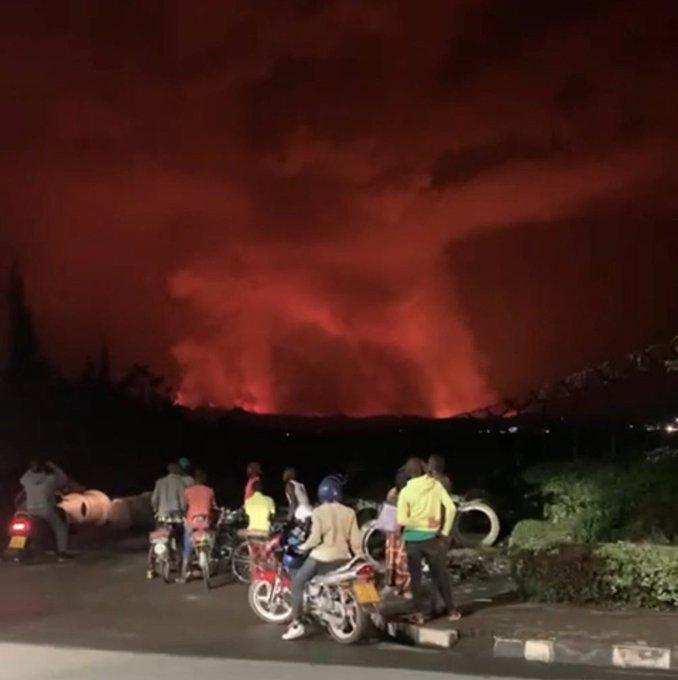 """""""Les voyages entre les villes de Goma et Bukavu via le lac Kivu sont  suspendus."""", disent sources officielles."""