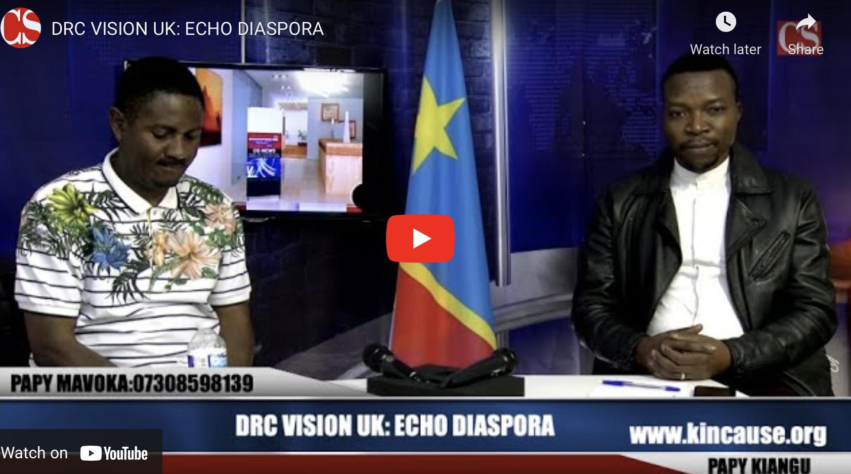 DRC VISION UK: ECHO DIASPORA.
