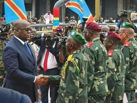 RDC : Félix Tshisekedi appelé à révoquer, les généraux qui lui ont menti sur les effectifs des militaires qui sont sur terrain.