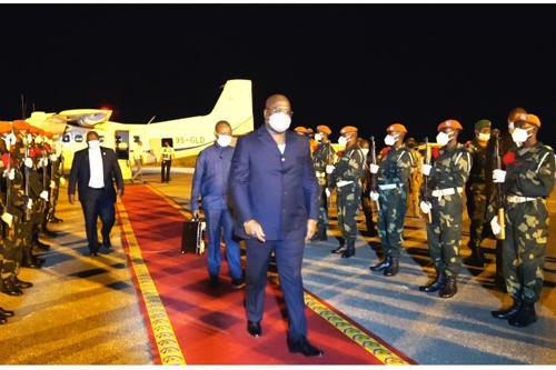 Bunia, Félix Tshisekedi à l'assaut des forces négatives!