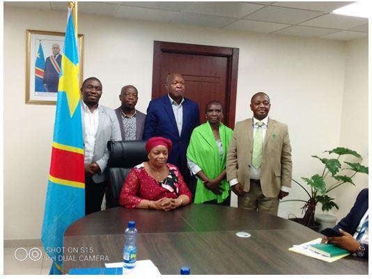 Vers une collaboration fructueuse entre la VPM Eve Bazaïba et la société civile environnementale.