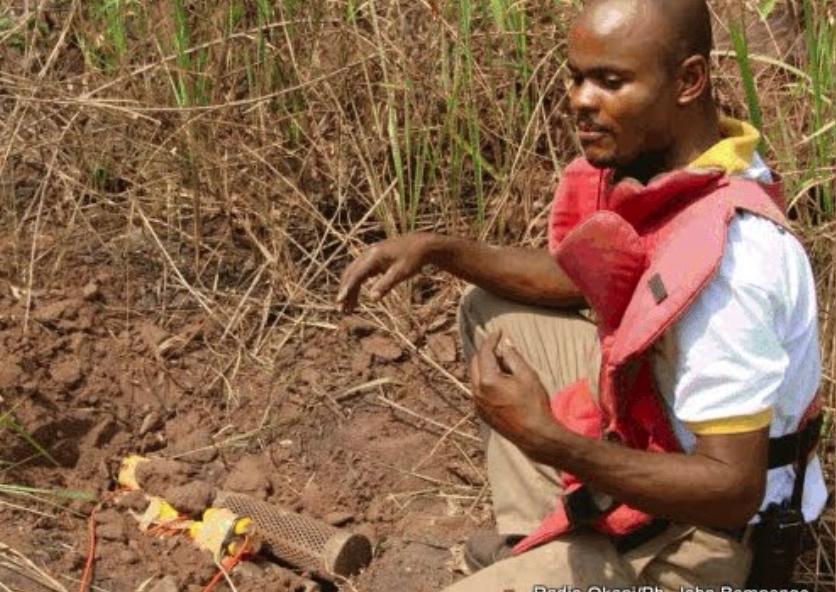 Tanganyika : découverte de 75 engins non explosés à Kabumba.