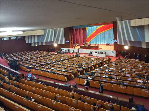 RDC : l'Assemblée nationale vote la cinquième prorogation de l'état de siège en Ituri et au Nord-Kivu.